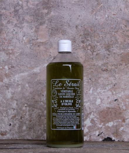 Savon de Marseille liquide à l'huile d'olive