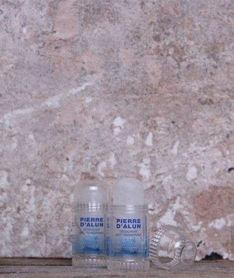 Pierre d'alun - déodorant anti transpirant naturel