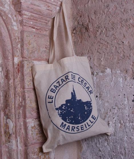 Tote bag - Le Bazar de César