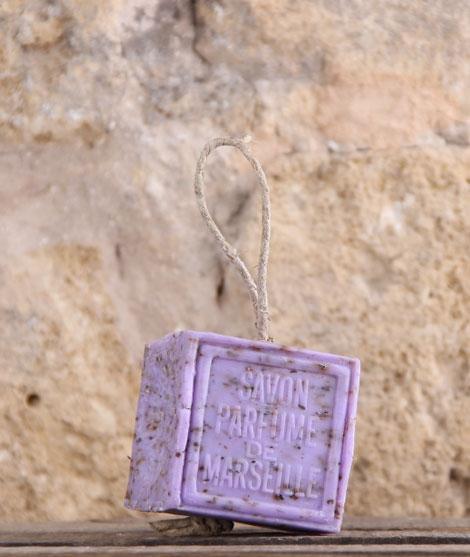 Cube Cordé de Marseille Parfumé